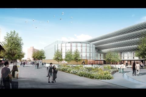Preston Bus Station winning design by New York architect John Puttick Associates